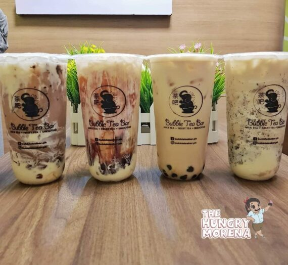 Bubble Tea Bar – So far the best Milktea that we've tasted in Bataan.
