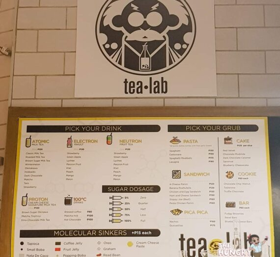 Tea Lab Mnl – Podium